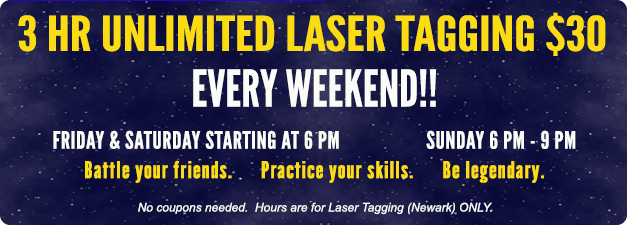 Every Weekend. Starting at 6pm.